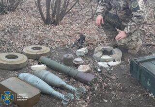 СБУ обнаружила боевые схроны вражеских диверсантов на востоке и юге Украины